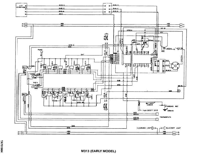 hmmwv headlight wiring harness humvee headlight wiring