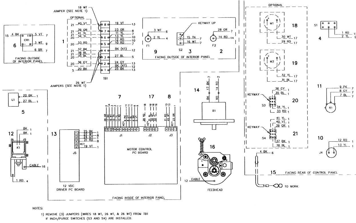 FIGURE FO1 ELECTRICAL SYSTEM SCHEMATIC FOLDOUT 14 OF 19 TM9 – Lincoln Mig Welder Wiring Diagram